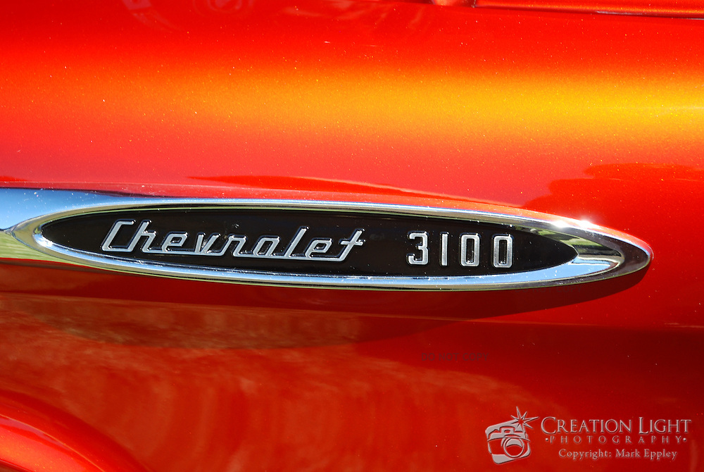 Chevy side nameplate.  Taken at the Medford Cruise in Oregon