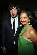 14 June 2010- Harlem, New York- l to r: Nacho Figueras and Jonell Procope at The Apollo Theater's 2010 Spring Benefit and Awards Ceremony hosted by Jamie Foxx inducting Aretha Frankilin and Michael Jackson, and honoring Jennifer Lopez and Marc Anthony co- sponsored by Moet et Chandon which was held at the Apollo Theater on June 14, 2010 in Harlem, NYC. Photo Credit: Terrence Jennngs/Sipa
