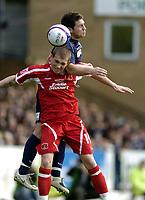 Photo: Olly Greenwood.<br />Southend United v Carlisle United. Coca Cola League 1. 27/10/2007. Carlisle's Joe Garner and Southend's Alan McCormack
