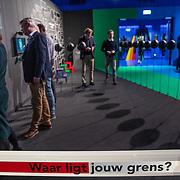 NLD/Hilversum/20190207- Opening Serieus Grappig tentoonstelling,