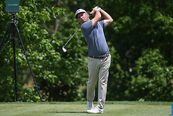 May 25, 2019 - Fort Worth, TX, U.S. - FORT WORTH, TX - MAY 25: Matt Every hits from the 8th tee during the third round of the Charles Schwab Challenge on May 25, 2019 at Colonial Country Club in Fort Worth, TX. (Photo by George Walker/Icon Sportswire) (Credit Image: © George Walker/Icon SMI via ZUMA Press)