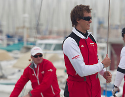 Peter Gilmour with his Team YANMAR Racing  in  Marseille,France 7 April 2010 Photo: Brendon O'Hagan/Subzero images Peter Gilmour (back) with his son David Gilmour in the front  in the with his Team YANMAR Racing  in  Marseille,France 7 April 2010 Photo: Brendon O'Hagan/Subzero images