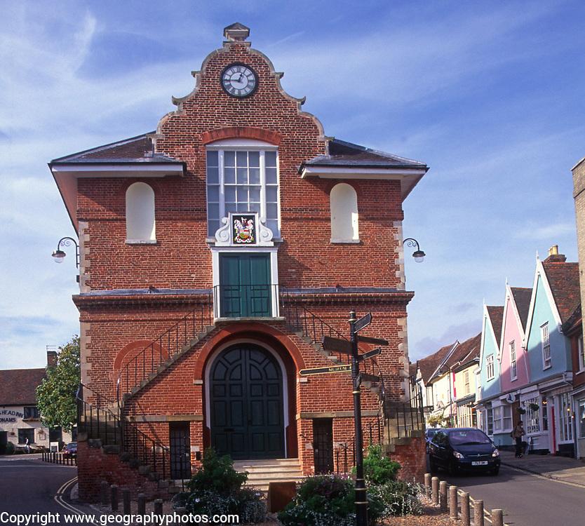 A293GB Woodbridge Shire hall Suffolk England
