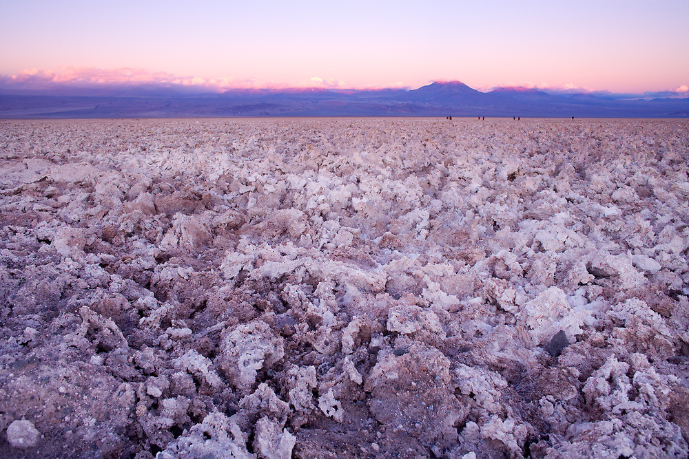 Salt crust in the Salar de Atacama (Atacama Salt Lake), Soncor, Los Flamencos National Reserve, Atacama desert, Antofagasta Region, Chile, South America