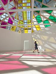 Modern Art Museum MUDAM Musee d'Art Moderne Grand Duc Jean;  Luxembourg