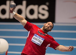 07.03.2014, Ergo Arena, Sopot, POL, IAAF, Leichtathletik Indoor WM, Sopot 2014, Tag 1, im Bild RYAN WHITING // RYAN WHITING during day one of IAAF World Indoor Championships Sopot 2014 at the Ergo Arena in Sopot, Poland on 2014/03/07. EXPA Pictures © 2014, PhotoCredit: EXPA/ Newspix/ Rafal Oleksiewicz<br /> <br /> *****ATTENTION - for AUT, SLO, CRO, SRB, BIH, MAZ, TUR, SUI, SWE only*****