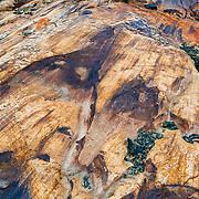 Terminus of Viedma Glacier, El Chalten, Argentina highlighting glacially polished and striated bedrock.