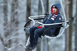 November 19, 2017 - Wisla, Poland - Adam Malysz, competes in the individual competition during the FIS Ski Jumping World Cup on November 19, 2017 in Wisla, Poland. (Credit Image: © Foto Olimpik/NurPhoto via ZUMA Press)