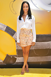 """Draya Michele arrives at the """"Despicable Me 3"""" Los Angeles Premiere held at the Shrine Auditorium in Los Angeles, CA on Saturday, June 24, 2017.  (Photo By Sthanlee B. Mirador) *** Please Use Credit from Credit Field ***"""