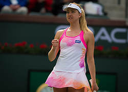 March 9, 2019 - Indian Wells, USA - Mona Barthel of Germany in action during her second-round match at the 2019 BNP Paribas Open WTA Premier Mandatory tennis tournament (Credit Image: © AFP7 via ZUMA Wire)