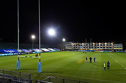 A general view of the Recreation Ground pitch prior to the match - Mandatory byline: Patrick Khachfe/JMP - 07966 386802 - 19/02/2021 - RUGBY UNION - The Recreation Ground - Bath, England - Bath Rugby v Gloucester Rugby - Gallagher Premiership