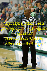 06 December 2017:  Referee Jonathan Patterson during an NCAA women's basketball game between the Wheaton Thunder and the Illinois Wesleyan Titans in Shirk Center, Bloomington IL