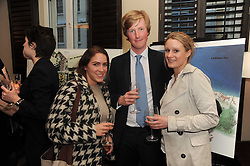 A party to promte the exclusive Puntacana Resort & Club - the Caribbean's Premier Golf & Beach Resort Destination, was held at The Groucho Club, 45 Dean Street London on 12th May 2010.<br /> <br /> Picture Shows:- Left to right, REBECCA CASSAR, JOE MAITLAND-ROBINSON and TANYA CAMPBELL