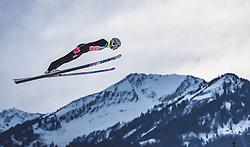 29.12.2018, Schattenbergschanze, Oberstdorf, GER, FIS Weltcup Skisprung, Vierschanzentournee, Oberstdorf, Qualifikation, im Bild Evgeniy Klimov (RUS) // Evgeniy Klimov of Russian Federation during his Qualification Jump for the Four Hills Tournament of FIS Ski Jumping World Cup at the Schattenbergschanze in Oberstdorf, Germany on 2018/12/29. EXPA Pictures © 2018, PhotoCredit: EXPA/ JFK
