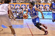 DESCRIZIONE : Supercoppa 2015 Semifinale Dinamo Banco di Sardegna Sassari - Grissin Bon Reggio Emilia<br /> GIOCATORE : Rok Stipcevic<br /> CATEGORIA : Palleggio Penetrazione<br /> SQUADRA : Dinamo Banco di Sardegna Sassari<br /> EVENTO : Supercoppa 2015<br /> GARA : Dinamo Banco di Sardegna Sassari - Grissin Bon Reggio Emilia<br /> DATA : 26/09/2015<br /> SPORT : Pallacanestro <br /> AUTORE : Agenzia Ciamillo-Castoria/L.Canu