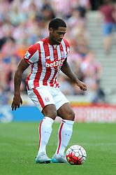 Glen Johnson of Stoke City - Mandatory byline: Dougie Allward/JMP - 07966386802 - 09/08/2015 - FOOTBALL - Britannia Stadium -Stoke-On-Trent,England - Stoke City v Liverpool - Barclays Premier League