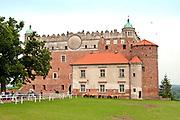 Golub Dobrzyń, 2011-07-10. Renesansowy zamek krzyżacki w Golubiu-Dobrzyniu