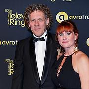 NLD/Amsterdam/20181011 - Televizier Gala 2018, Kees van der Spek en partner Annebelle