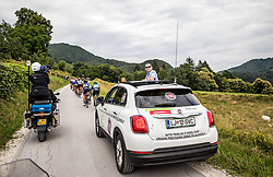 Judge David Menzies of Netherlands during 3rd Stage of 25th Tour de Slovenie 2018 cycling race between Slovenske Konjice and Celje (175,7 km), on June 15, 2018 in  Slovenia. Photo by Vid Ponikvar / Sportida