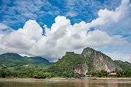 On the Mekong River near Luang Prabang.