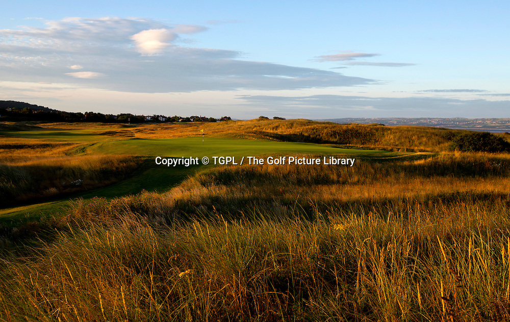 12th par 4 Royal Liverpool,Hoylake,Whirral,England.Venue for The Open Championship 2014.