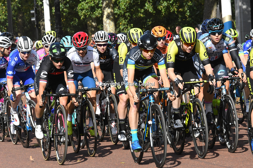 Prudential RideLondon Classique at the Mall on 28 July 2018, London, UK