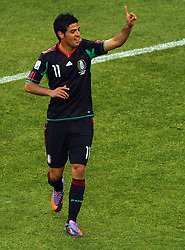 Mexico's Carlos Vela  during the Group A first round 2010 FIFA World Cup South Africa match between South Africa and Mexico at Soccer City Stadium on June 11, 2010 in Johannesburg, South Africa.  (Photo by Vid Ponikvar / Sportida)