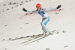 November 19, 2017 - Wisla, Poland - Richard Freitag (GER), competes in the individual competition during the FIS Ski Jumping World Cup on November 19, 2017 in Wisla, Poland. (Credit Image: © Foto Olimpik/NurPhoto via ZUMA Press)