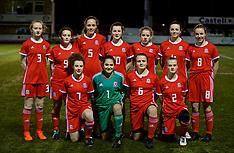 180210 Wales U15 Girls v Scotland U15 Girls