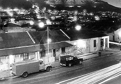 District 6 Night.jpg<br /> District Six at night in the mid-1960s.<br /> Picture: Jim McLagan