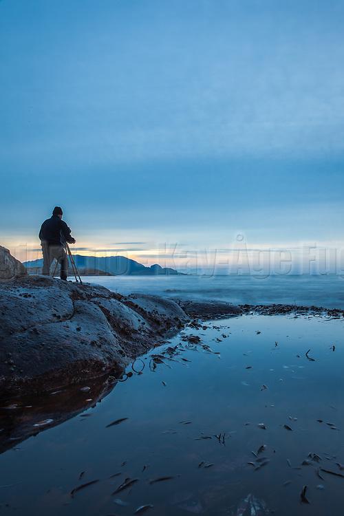Fotograf i arbeid | Photographer at work