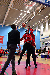 BBL Playoff Final Shooting competition - Photo mandatory by-line: Dougie Allward/JMP - 25/02/2017 - BASKETBALL - SGS Wise Arena - Bristol, England - Bristol Flyers v London Lions - British Basketball League