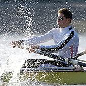 20060318 Varsity Boat Race, Pre Race fixture, CUBC vs Leander Club, London
