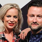 NLD/Amsterdam/20151012 - MTV EMA Pre Party, Dennis Weening en partner Stella
