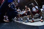 DESCRIZIONE : Bologna Lega A 2015-16 Obiettivo Lavoro Virtus Bologna - Umana Reyer Venezia<br /> GIOCATORE : Umana Reyer Venezia<br /> CATEGORIA : Time Out<br /> SQUADRA : Umana Reyer Venezia<br /> EVENTO : Campionato Lega A 2015-2016<br /> GARA : Obiettivo Lavoro Virtus Bologna - Umana Reyer Venezia<br /> DATA : 04/10/2015<br /> SPORT : Pallacanestro<br /> AUTORE : Agenzia Ciamillo-Castoria/G.Ciamillo<br /> <br /> Galleria : Lega Basket A 2015-2016 <br /> Fotonotizia: Bologna Lega A 2015-16 Obiettivo Lavoro Virtus Bologna - Umana Reyer Venezia