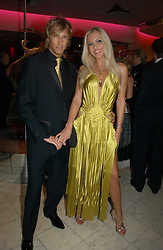 EMMA NOBLE and RICK PARFITT jnr at Andy & Patti Wong's annual Chinese New year Party, this year to celebrate the Year of The Pig, held at Madame Tussauds, Marylebone Road, London on 27th January 2007.<br /><br />NON EXCLUSIVE - WORLD RIGHTS