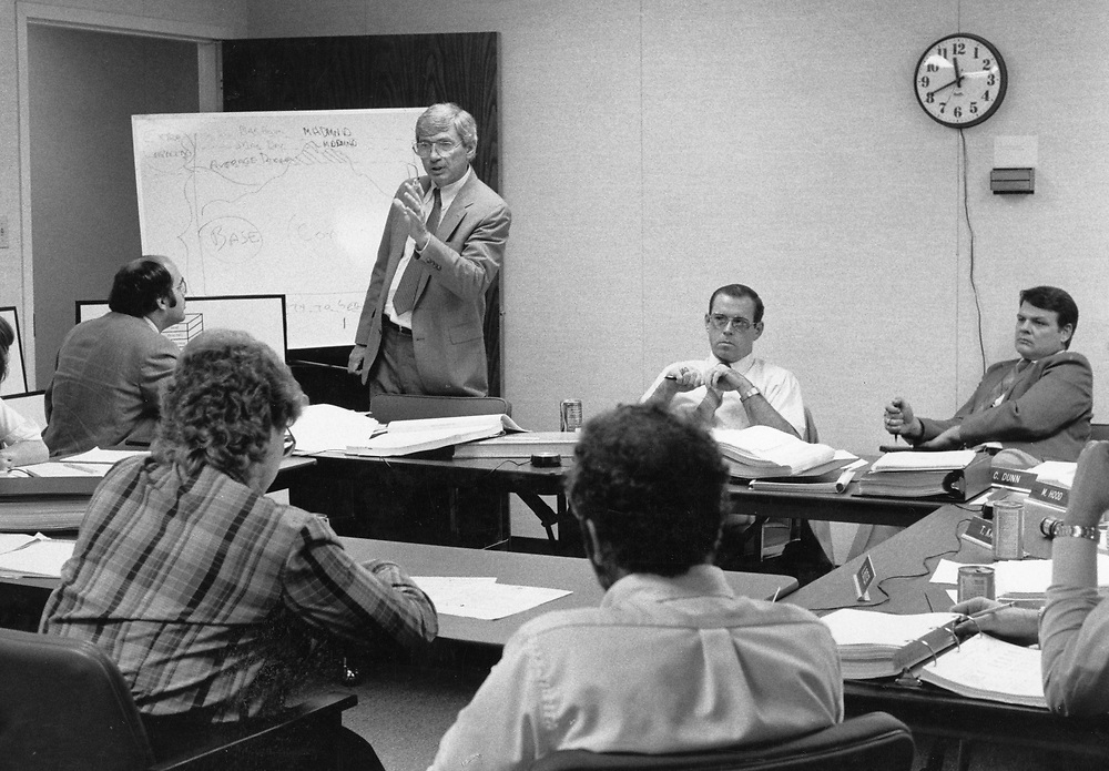 ©1993 Public Speaking:  Summertime seminar for city managers and utility managers to discuss city problems.
