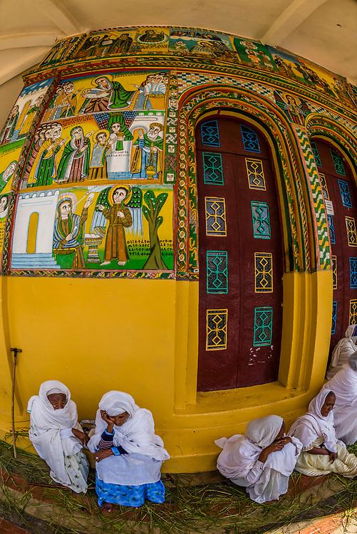 Saint Yared Church (Ethiopian Orthodox Church), Axum (Aksum), Ethiopia.
