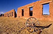 Ft. Union National Monument, near Wagon Mound, New Mexico.