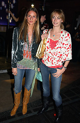 Left to right, AMANDA CROSSLEY and CLEMENTINE HAMBRO at a party to celebrate a new collection of sexy underware by Janet Reger called 'Naughty Janet' held at 5 Cavendish Square, London on 19th October 2004.<br /><br />MINIMUM REPRODUCTION FEE - SEE OUR WEB SITE<br /><br />NON EXCLUSIVE - WORLD RIGHTS-