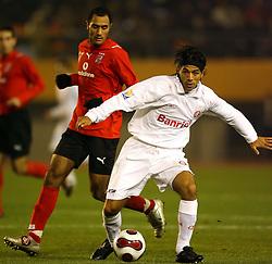 Vargas em lance da partida entre o Internacional, do Brasil e o Al-Ahly, do Egito válido pelo Mundial Interclubes da Fifa, no Estádio Nacional de Tóquio. FOTO: Jefferson Bernardes/Preview.com
