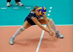 26-08-2010 VOLLEYBAL: WGP FINAL USA - ITALY: BEILUN NINGBO<br /> The United States convincingly beat Italy in straight sets / Francesca Piccinini<br /> ©2010-WWW.FOTOHOOGENDOORN.NL