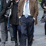 NLD/Leusden/20120920- Uitvaart Joop van Tellingen, Tom Metz, verslaggever
