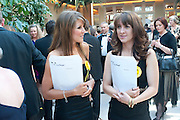 VIKKI BAILLON; LISA O'CONNOR, Dogs Trust Honours 2009, A celebration of man's best friend. The Hurlingham Club, Ranelagh Gardens, London, SW6. 19 May 2009.