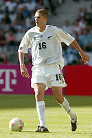 FOTBALL - CONFEDERATIONS CUP 2003 - GROUP A - 030618 - NEW ZEALAND v JAPAN - VAUGHAN COVENY (ZEA) - PHOTO STEPHANE MANTEY / DIGITALSPORT