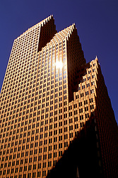 Stock photo of the Bank of America Center in Houston, Texas