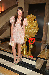 ZARA MARTIN at the Warner Music Brit Party held at the Freemason's Hall, 60 Great Queen Street, London on 25th February 2015.