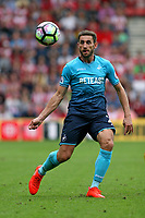 Football - 2016 / 2017 Premier League - Southampton vs. Swansea City<br /> <br /> Angel Rangel of Swansea City in action at St Mary's Stadium Southampton <br /> <br /> Colorsport/Shaun Boggust