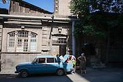 Yerevan, Armenia August 2015.