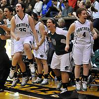 3.9.2011 Elyria Catholic vs Gilmour Academy Girls Varsity Basketball Regional Semi